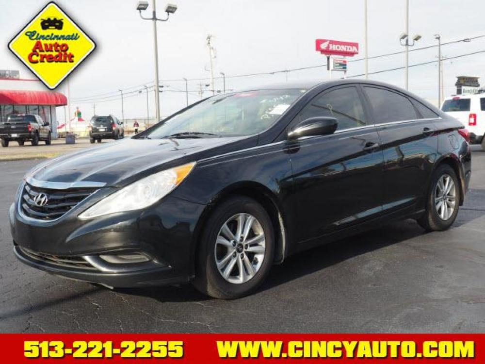 2012 Midnight Black Hyundai Sonata GLS (5NPEB4ACXCH) with an 2.4 4 Cylinder Fuel Injected engine, Automatic transmission, located at 5489 Dixie Highway, Fairfield, OH, 45014, (513) 221-2255, 39.333084, -84.523834 - Photo #0